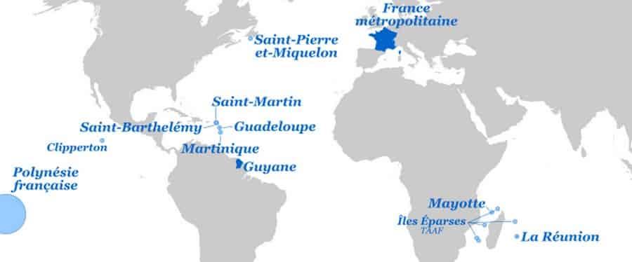 Nos territoires volontairement oubliés: Guyane, Guadeloupe, Réunion, Saint-Martin, Saint-Barthélemy